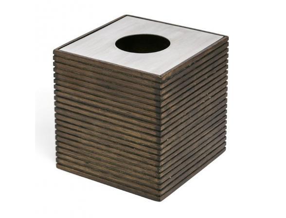 Бокс для салфеток (салфетница) KASSATEX Rubber Wood (Eko) AEK-TH
