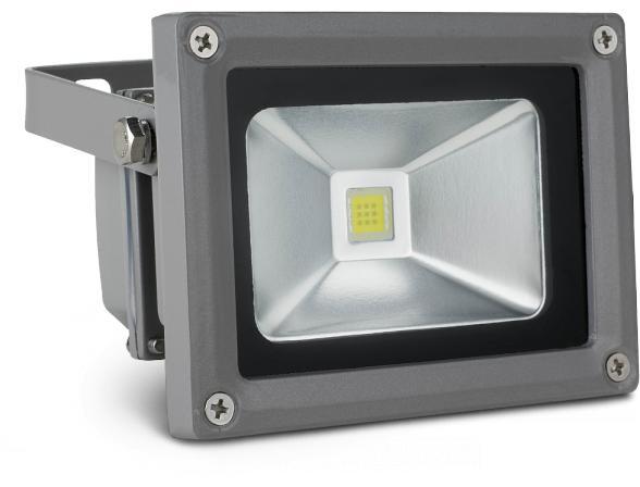 Светодиодный прожектор X-flash Floodlight IP65 10 Вт, белый свет 43293