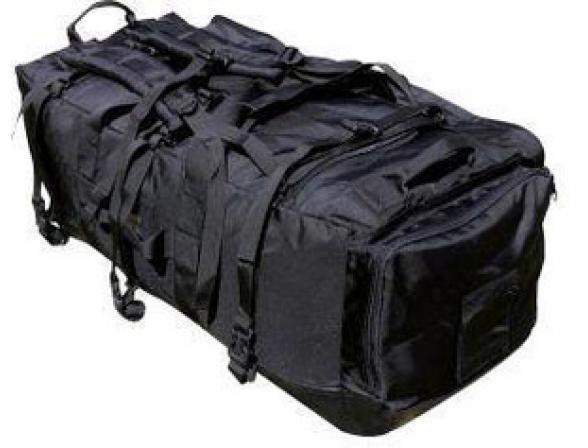 Рюкзак-сумка AVI-Outdoor RANGER CARGOBAG black, 90 л