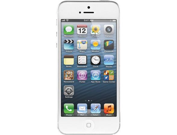 Коммуникатор Apple iPhone 5 64Gb White