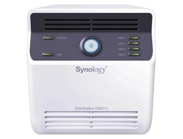 Сетевой накопитель Synology DS411j