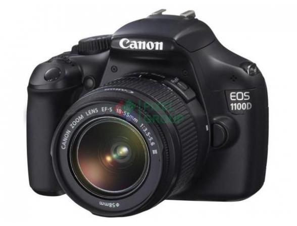Зеркальный фотоаппарат Canon EOS 1100D Kit 18-55 III