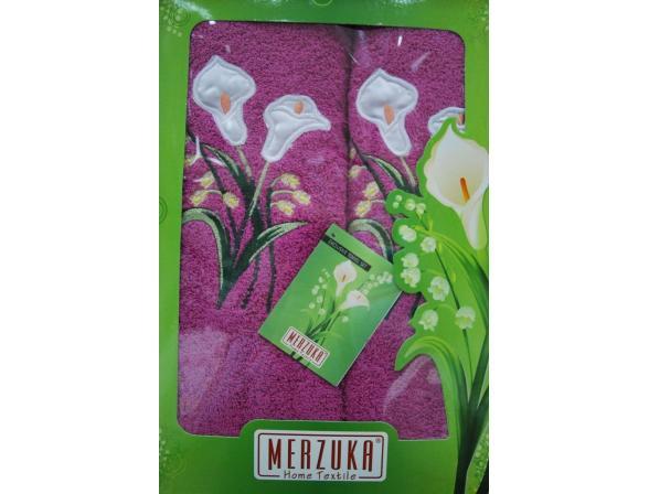 Комплект полотенец Oran Merzuka 2 пр. ЗАМБАК