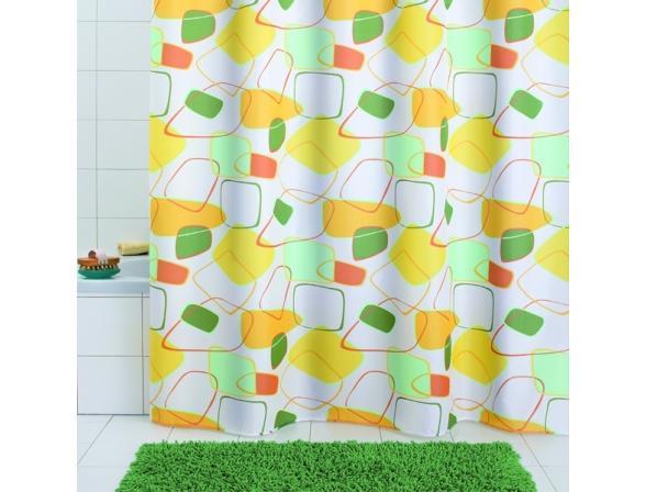Штора для ванной Bacchetta 180х200 Geometrico