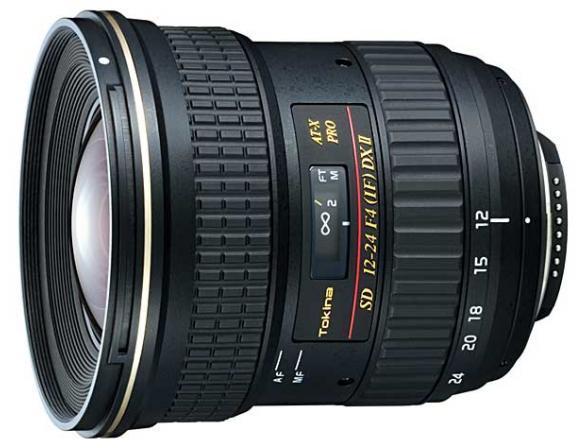 Объектив Tokina AT-X 124 PRO DX II Nikon F*