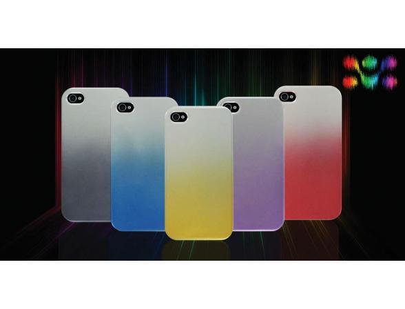 Защитный чехол Promate для iPhone 4 (Electra.BL) синий