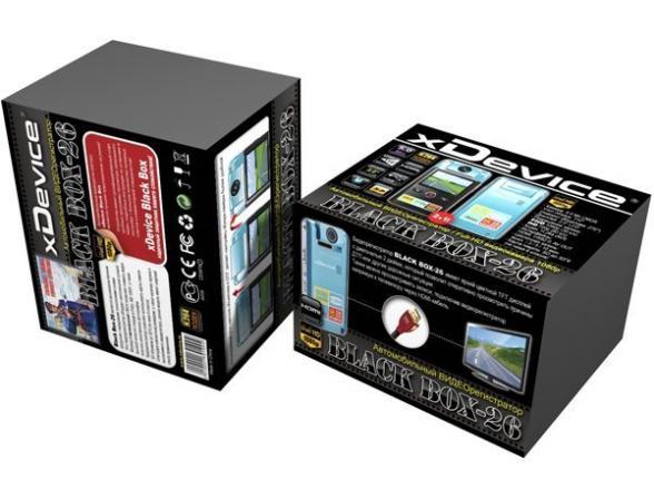 Видеорегистратор xDevice BlackBox-26