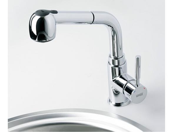 Смеситель для кухни с выдвижным изливом WasserKRAFT Main 4166