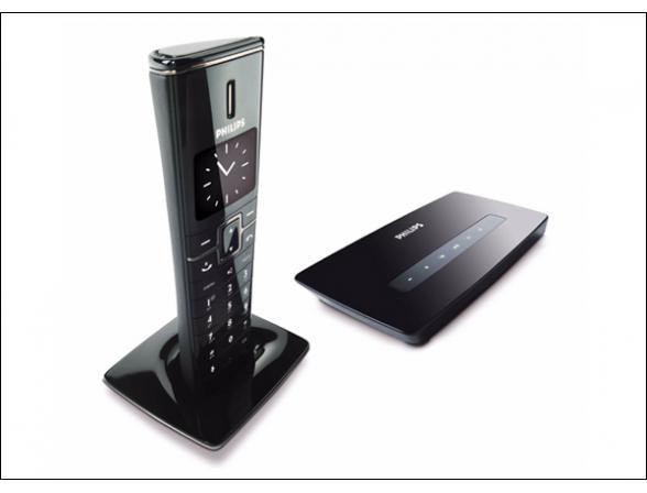 Радиотелефон Dect Philips ID9651 (Black)