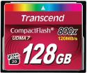 Флэш память Transcend 128 Gb CompactFlash Ultra Speed 800X
