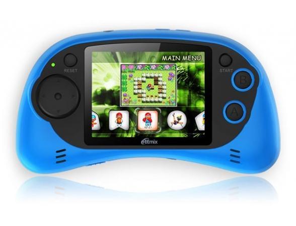 Игровая приставка RITMIX RZX-20 синяя