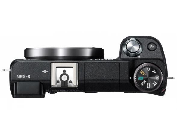 Цифровой фотоаппарат Sony Alpha NEX-6 Kit 18-55 black