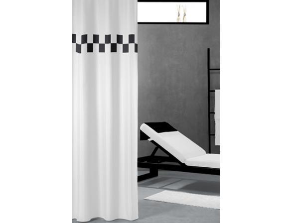 Шторка SEALSKIN Bloki черно/белый (233051310)