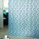 Штора для ванной Bacchetta 180х200 Mosaico синяя