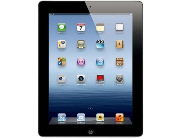 Планшет Apple iPad 3 16Gb Wi-Fi + Cellular Black