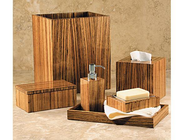 Набор для ванной Labrazel <> Dante Zebrawood