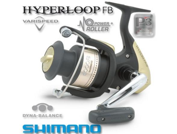 Катушка с передним фрикционом Shimano HYPERLOOP 1000 FB