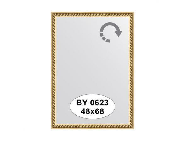 Зеркало в багетной раме EVOFORM витое золото BY 0623