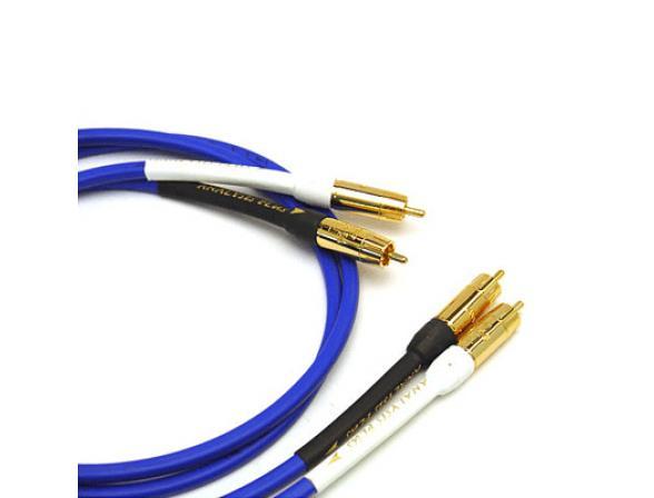 Кабель межблочный RCA Analysis-Plus Blue Oval-In 1,5м
