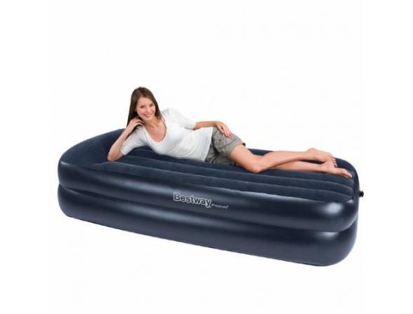 Кровать надувная со встроенным насосом Bestway Premium Air Bed Single 67381