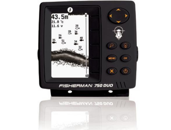 Эхолот JJ-Connect Fisherman 750 Duo