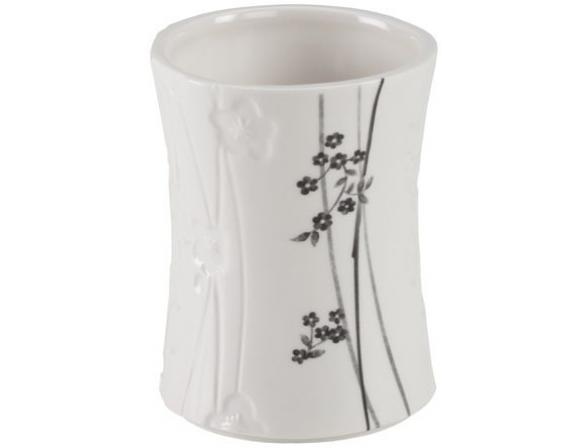 Стакан для зубной пасты Creative Bath Blossoms BLS11WH*