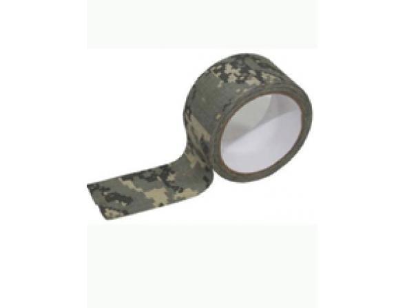 Камуфляжный скотч Savotta Camo Camouflage Tape 2,5см*4,5м, лесной КМФ.