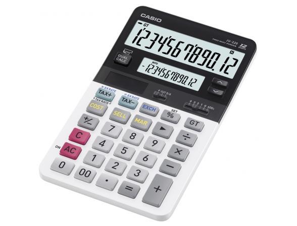 Калькулятор компактный настольный Casio casJV-220