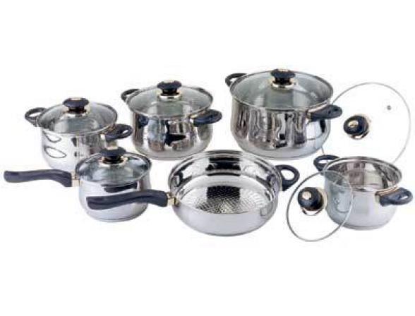 Набор посуды BEKKER Jumbo BK-219