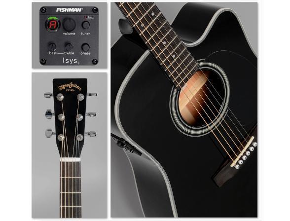 Гитара _Sigma DMC-1STE-BK