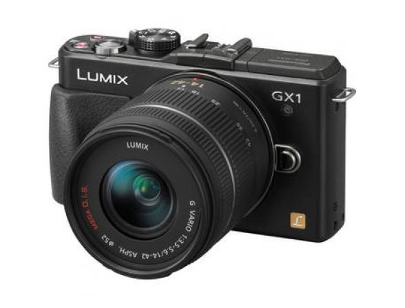 Цифровой фотоаппарат Panasonic Lumix DMC-GX1K Kit 14-42mm