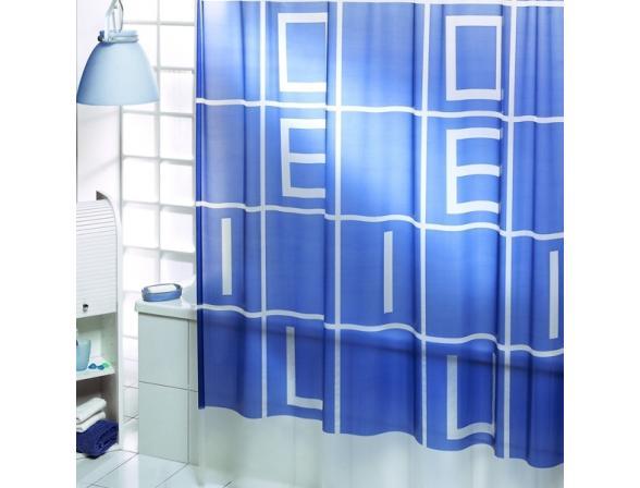 Штора для ванной Bacchetta 180х200 Alfabeto гол