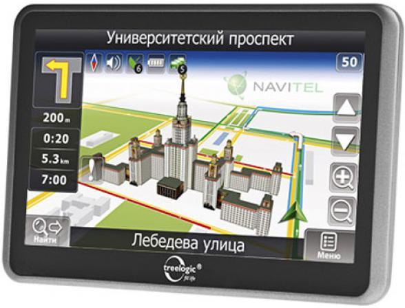 Навигатор Treelogic TL-7006 BGF AV 4GB