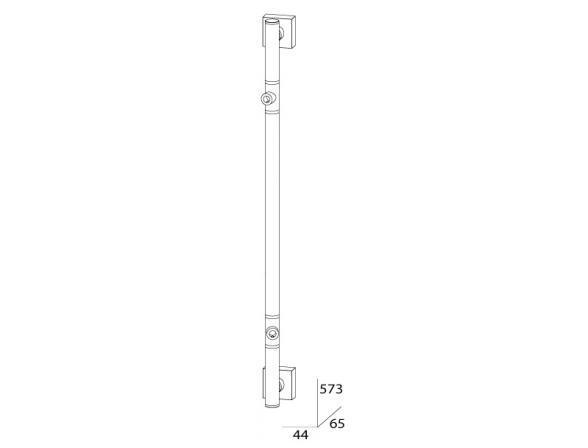 Штанга двухпозиционная FBS ESPERADO 57 см ESP 074