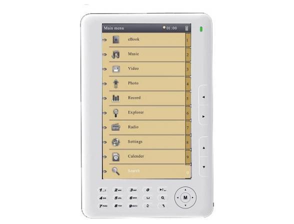 Электронная книга Diframe Df-MB701 white
