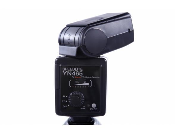 Вспышка Yongnuo Speedlite YN-465 (E-TTL) для Canon