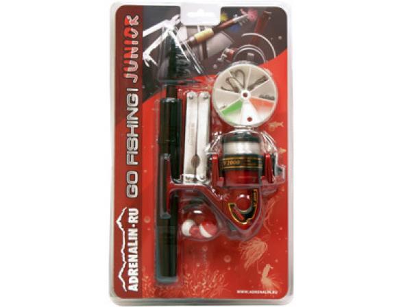 Рыболовный набор Adrenalin Go Fishing! Junior