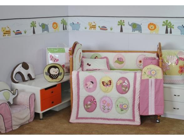 Комплект для детской кровати ARYA CY 969 Garden