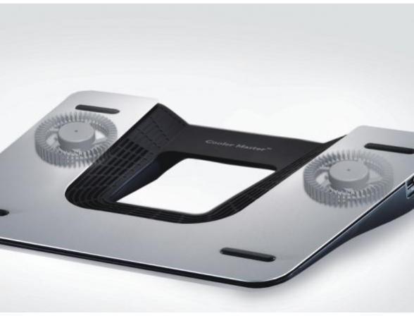 Подставка-охлаждение Cooler Master NotePal Infinite EVO, black-silver