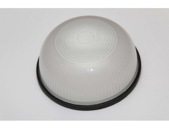 Светильник пылевлагозащищенный Uniel UWL-R-01-100-Black