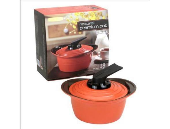 Кастрюля Roichen Natural Ceramic Premium 18 см RPC-18 C/OS