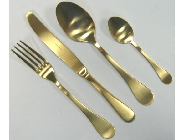 Набор столовых приборов HERDMAR ROCCO OLD GOLD 24пр. 08930241600E16