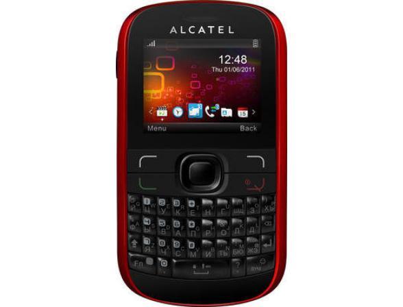 Телефон Alcatel OT385D Cherry red