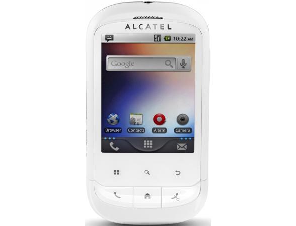 Телефон Alcatel OT891 White (белый)
