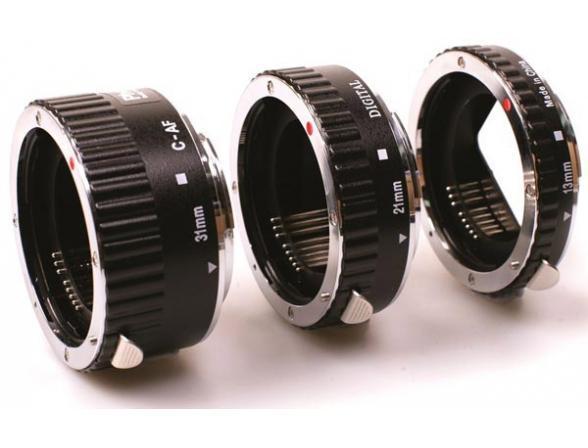 Набор Phottix 3 кольца AF для макросъемки c Nikon