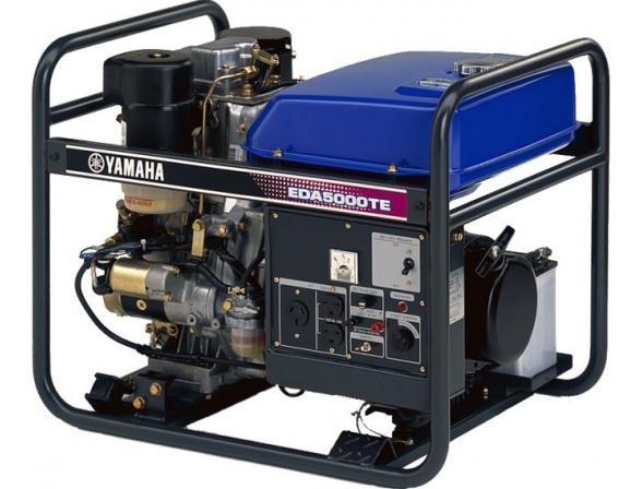 Бензогенератор Yamaha EDA5000TE