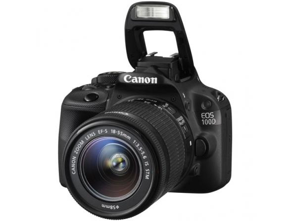 Зеркальный фотоаппарат Canon EOS 100D Kit 18-55  IS STM