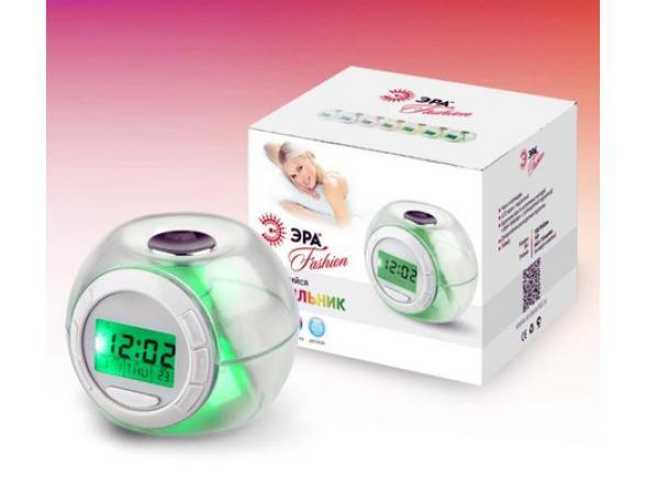Декоративный светильник с функцией будильника ЭРА W-UP-A1