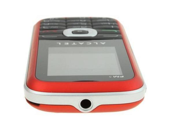 Телефон Alcatel OT506D Spicy Red