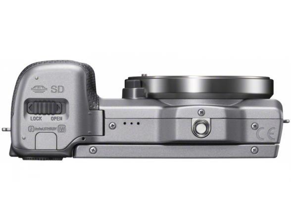 Цифровой фотоаппарат Sony Alpha NEX-5RY Kit 16-50 + 55-210 Silver